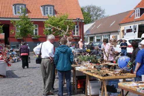 Kræmmermarked på Torvet Aakirkeby