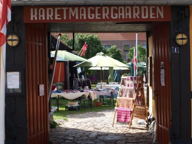 Karetmagergaardens Loppemarked i Hasle