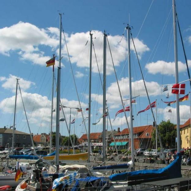 Kræmmermarked på Skippetorvet i Nexø
