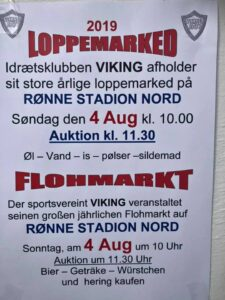 Viking Loppemarked @ RØNNE STADION NORD | Rønne | Hovedstaden | Danmark