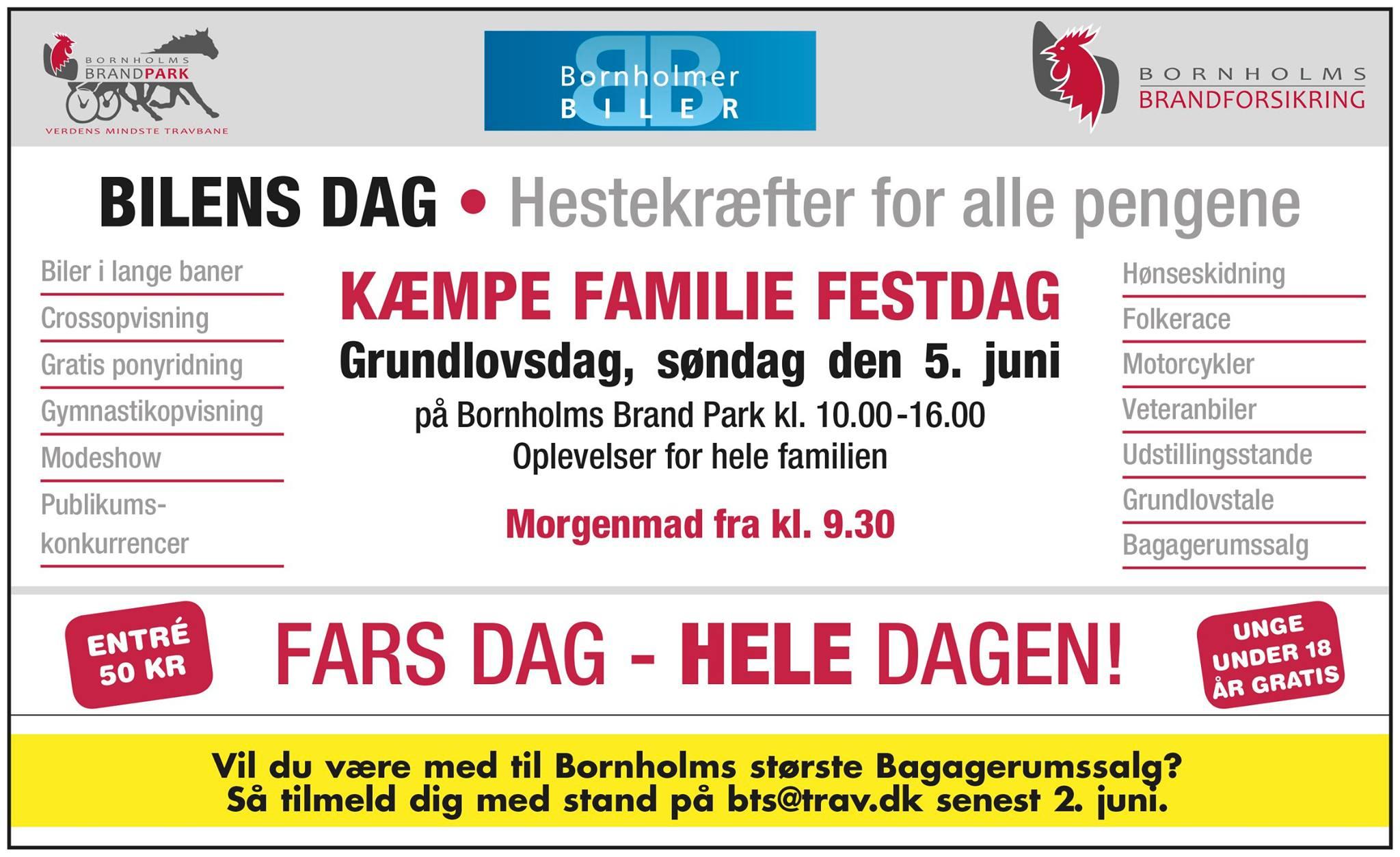 Bilernes dag @ Bornholms Brand Park | Aakirkeby | Danmark