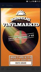 LP/Vinyl marked @ Arne Jensen Bar | Rønne | Danmark