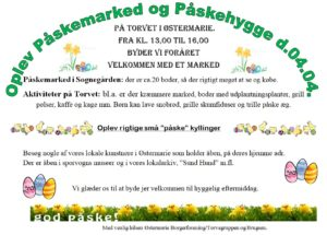 AFLYST - Påskemarked i Sognegården @ Østermarie Torv | Østermarie | Danmark