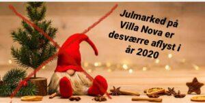 AFLYST - Julemarked på Villa Nova 2020 @ Villa Nova | Rønne | Danmark